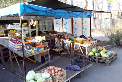 Копейские предприниматели боятся сноса ларьков в центре города