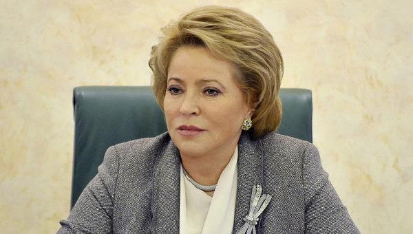 Матвиенко предложила каждому больному безработному самому «нести свой чемодан»