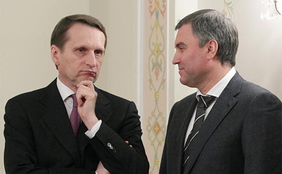 Рокировки в высших политических кругах: Нарышкин станет главным разведчиком, а Володин – спикером