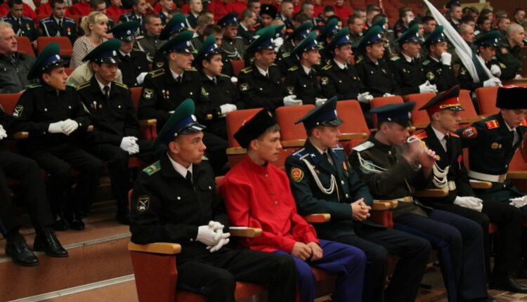 Кадеты из Верхнеуральска заняли второе место на конкурсе кадетских классов УрфО