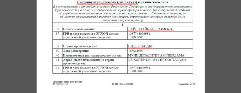 Борис Дубровский и оффшоры