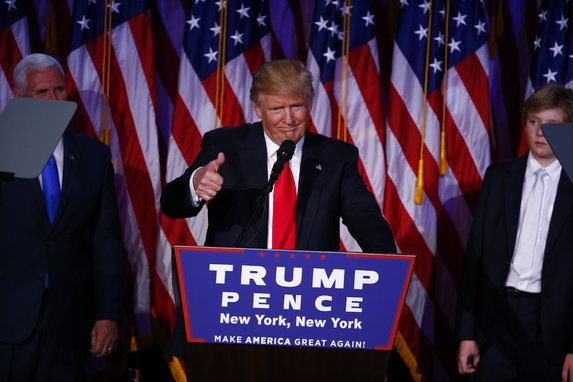 Непредсказуемые  выборы: Вчера эксперты давали 85% шансов Клинтон, сейчас 95% – у Трампа