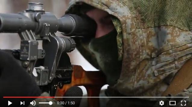 Крутой боевик от Минобороны в честь Дня Разведчика, ВИДЕО