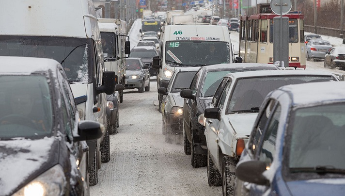 Сегодня пробки в Челябинске – на 8 баллов