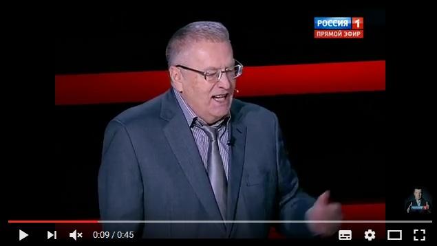 Жириновский разразился в эфире неприличным анекдотом, ВИДЕО