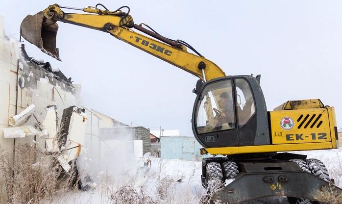 Автомойка под Магнитогорском снесена «в боях»