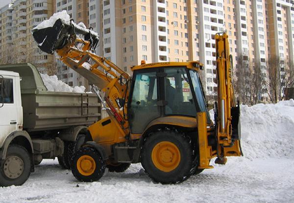 В честь Путина Тефтелев разгрёб снег