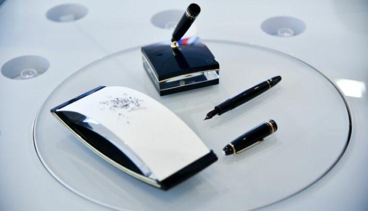 Ручку Путина – в музей! Фирма Montblank, цена от $500 до $1000