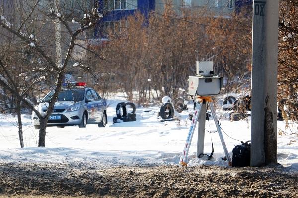 Челябинское ГИБДД вернулось к мобильным постам видеофиксации