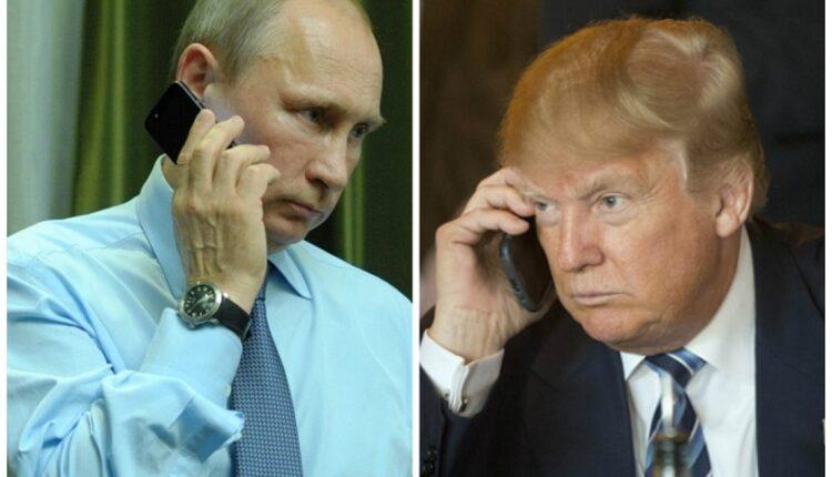 Состоялся первый разговор президентов Путина и Трампа