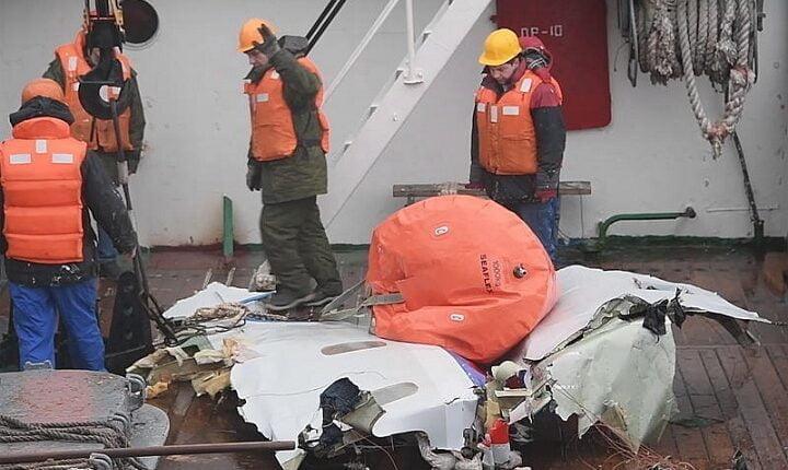 Военные обратились к МАК за помощью для расследования причин крушения ТУ-154