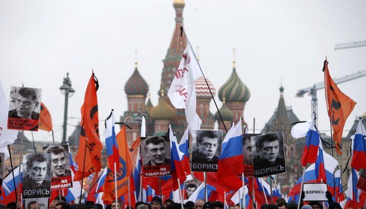 Участников марша Бориса Немцова не пустят к месту убийства политика