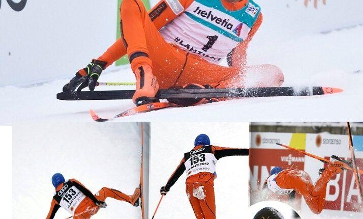 Мир в восторге от лыжника, который впервые увидел снег. ВИДЕО!