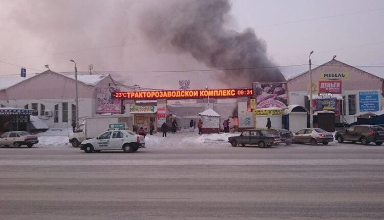Горит челябинский рынок: «Разборки» в духе 90-х?