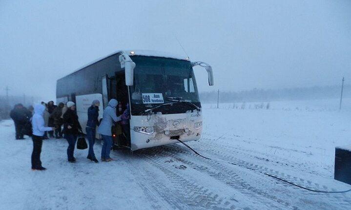 В Челябинске перестали ходить междугородние автобусы