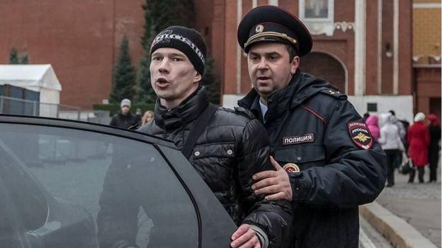 Активиста Ильдара Дадина опять задержали