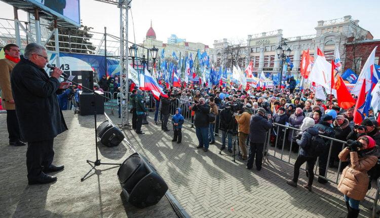 Губернатор Дубровский «завалил» митинг в поддержку Путина по Крыму