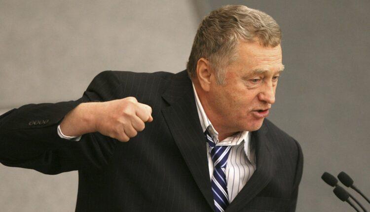Жириновский оправдался за призывы к расстрелам