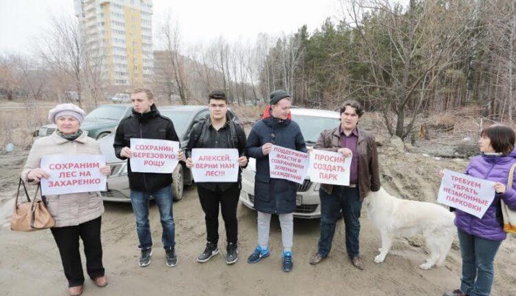 Заказные пикеты депутата Александра Галкина