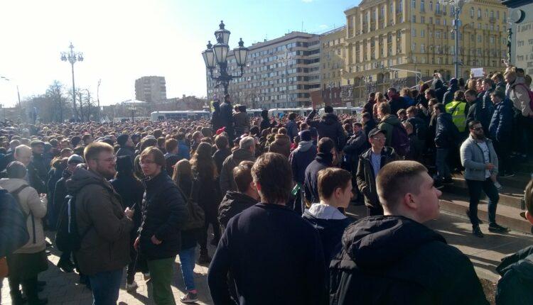 Антикоррупционные митинги одобрили 40% россиян