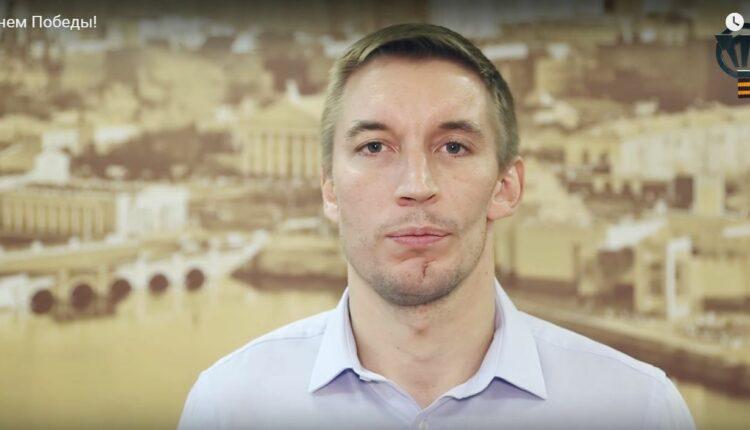 Хоккеисты челябинского «Трактора» поздравили земляков с Днем Победы