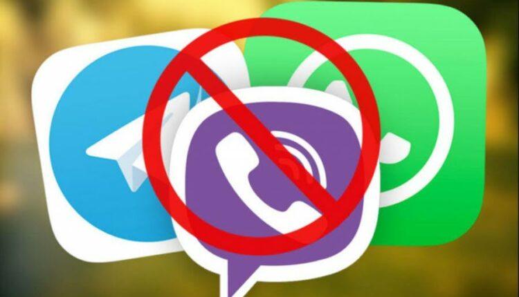 В России могут заблокировать Telegram, WhatsApp и Viber