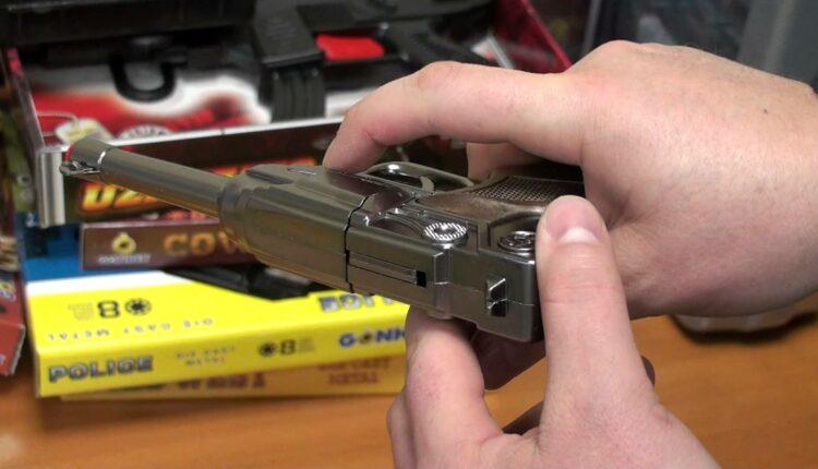 Игрушечный пистолет – оружие разбоя