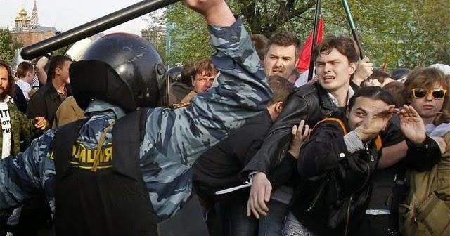 Три четверти россиян – за насилие в действиях полиции