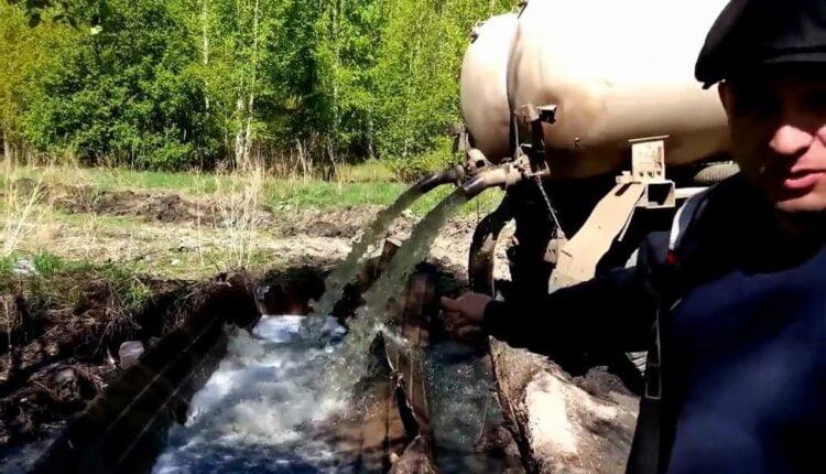 Могилы плавают в фекалиях: на Южном Урале – экологическая катастрофа