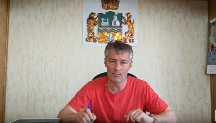 Евгений Ройзман завёл свой блог на Ютубе