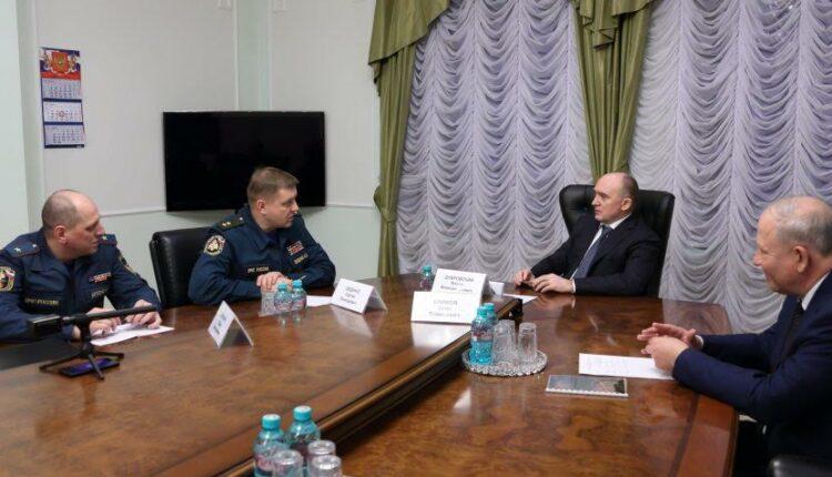 Генерал МЧС устроил разнос команде Дубровского