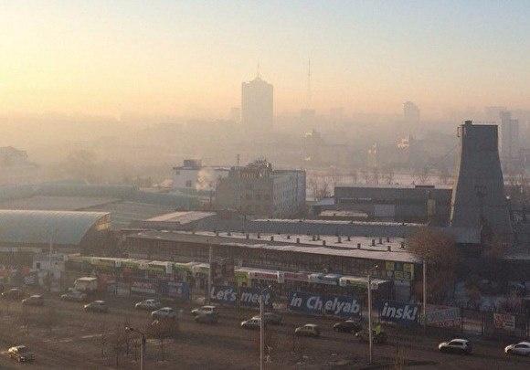 Челябинский смог стал заметен в Европе
