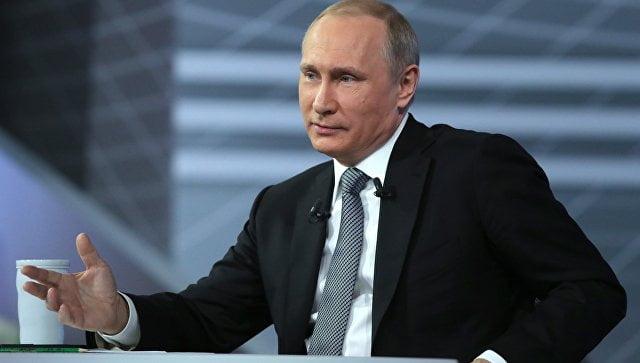 Очередная прямая линия с Путиным – 15 июня