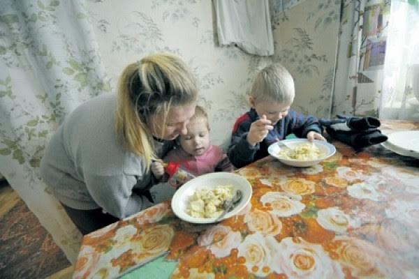 Россия беднеет: число россиян за чертой бедности за 5 месяцев увеличилось на 10%