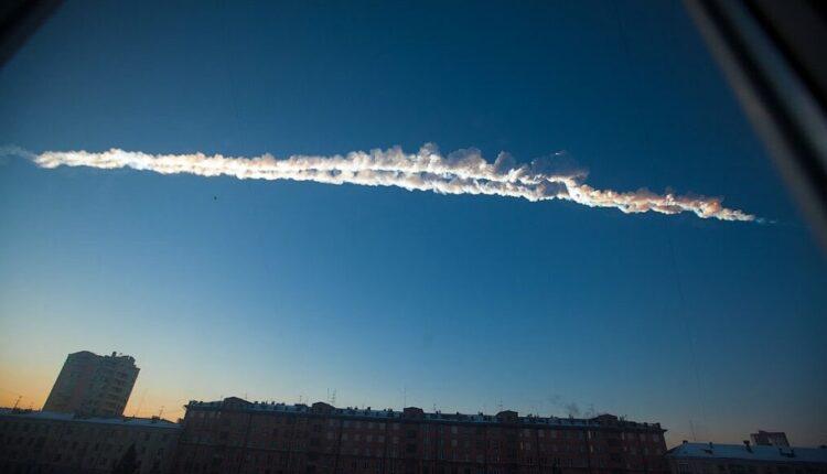 NASA в красках показало, как именно падал метеорит на Челябинск. ВИДЕО