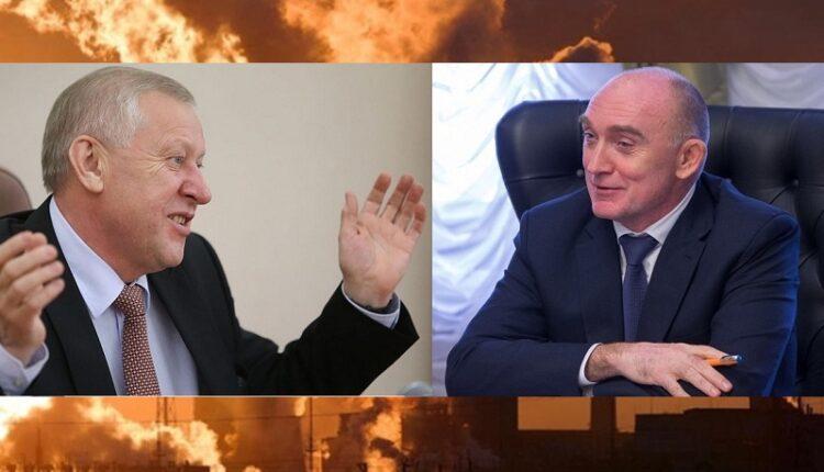 Дубровский и Тефтелев смеются над челябинцами, задыхающимися от смога