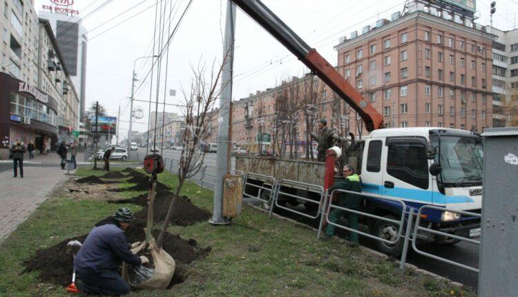 Глава Челябинска Тефтелев так боится Путина, что липы в октябре высаживает