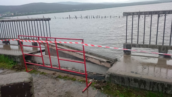 Южноуральские чиновники отделались символическим наказанием за рухнувший мост