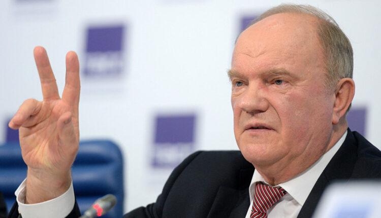 Зюганову не нужны преемники: глава КПРФ сам будет баллотироваться в президенты