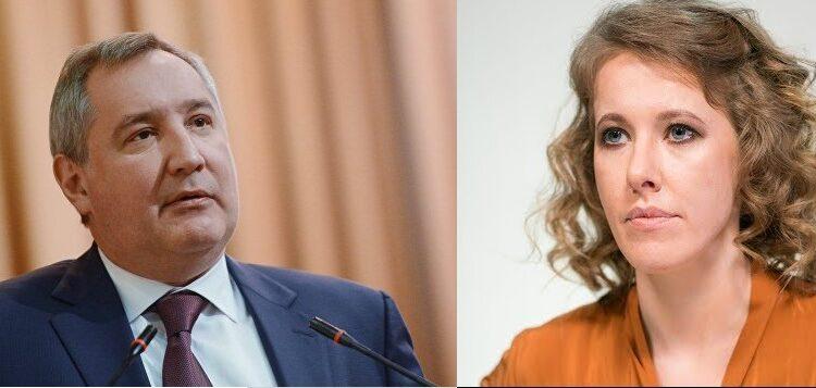 «Рогозина в тюрьму»! Собчак — политический киллер или это пиар? ВИДЕО
