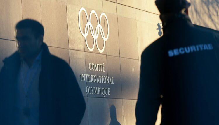 Сборную России отстранили от участия в зимних олимпийских играх