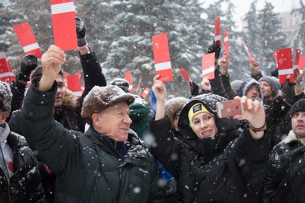 По всей России прошли собрания сторонников выдвижения Навального
