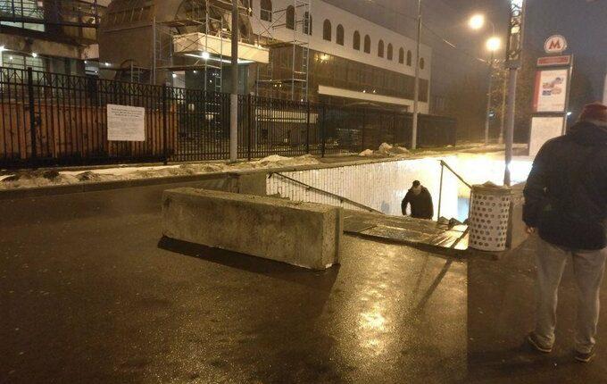 Собянин завалил Москву бетонным блоками. ФОТО