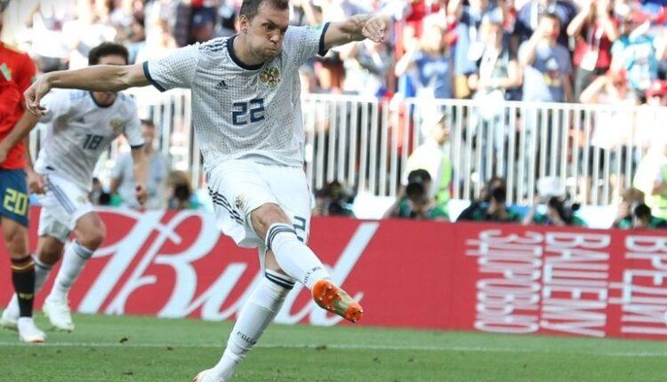 Дзюба забивает гол! Испания — Россия 1:1. ФОТО, ВИДЕО