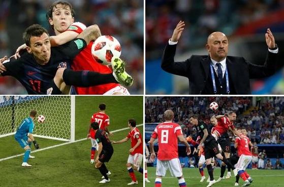 Акинфеев проворонил второй мяч. 1:2 в пользу Хорватии. Но Россия успевает сравнять счёт!!! UPD. Чуда не свершилось. ФОТО, ВИДЕО
