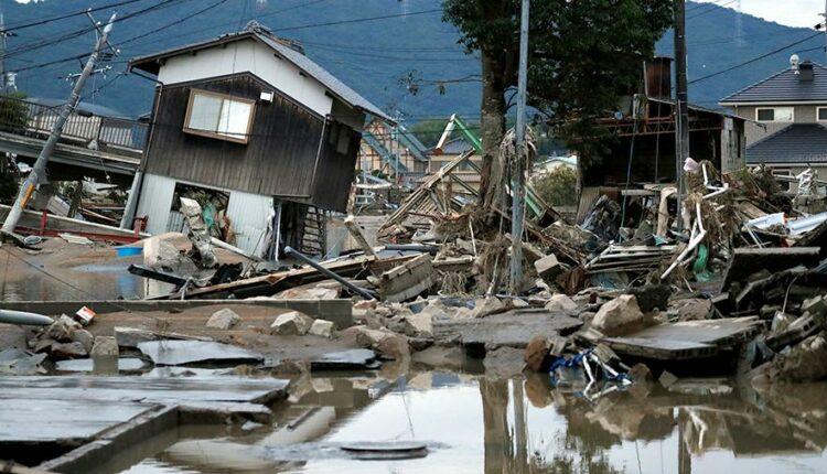 В Японии – крупное стихийное бедствие. Погибло более ста человек. ФОТО, ВИДЕО
