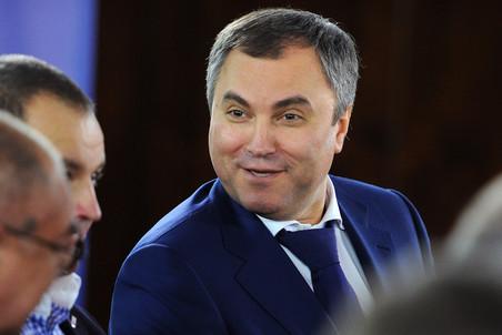 Вячеслав Володин впервые прокомментировал расследование Навального