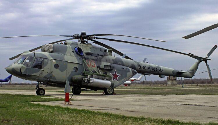 В Челябинской области жестко приземлился и загорелся военный вертолет