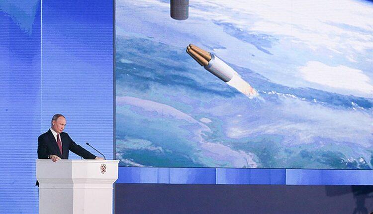 Ядерная ракета, которую Путин «запустил» во Флориду, упала в Баренцево море