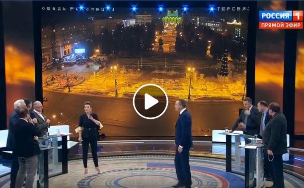 В прямом эфире федерального телеканала эффектно замяли тему о штурме челябинской мэрии. ВИДЕО